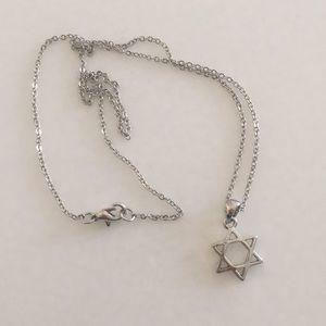 Jewelry - Star of David silver charm necklace